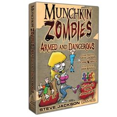 Munchkin Zombies: Armed And Dangerous - New Box Format