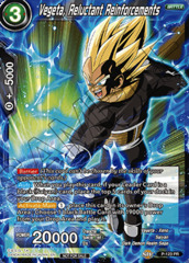 Vegeta, Reluctant Reinforcements - P-123 - PR