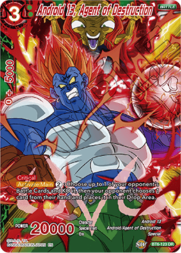 Android 13, Agent of Destruction - BT6-123 - DR - Dragon