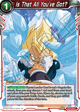 Is That All You've Got? - BT6-026 - C - Pre-release