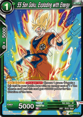 SS Son Goku, Exploding with Energy - BT6-055 - C - Pre-release