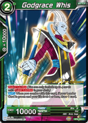 Godgrace Whis - BT6-058 - C - Pre-release (Destroyer Kings)