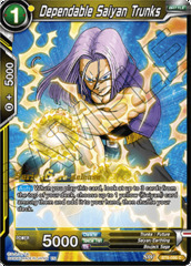 Dependable Saiyan Trunks - BT6-086 - C - Pre-release (Destroyer Kings)