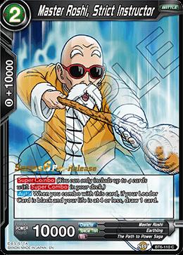Master Roshi, Strict Instructor - BT6-110 - C - Pre-release