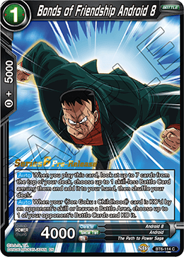 Bonds of Friendship Android 8 - BT6-114 - C - Pre-release
