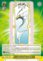 Clear Card: GALE - CCS/WX01-029 - U