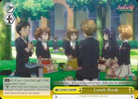 Lunch Break - CCS/WX01-030R - RRR