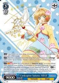 Cardcaptor Sakura: SIEGE - CCS/WX01-077SP - SP