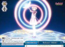 Release! SIEGE! - CCS/WX01-098R - RRR