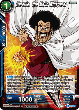 Hercule, the Majin Whisperer - P-096 - PR - Foil