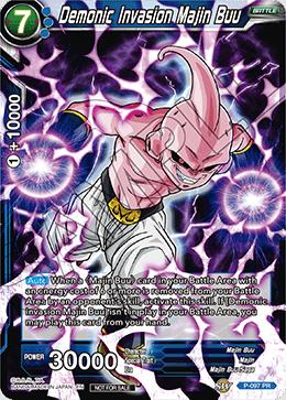 Demonic Invasion Majin Buu - P-097 - PR - Foil