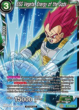 SSG Vegeta, Energy of the Gods - P-098 - PR - Foil