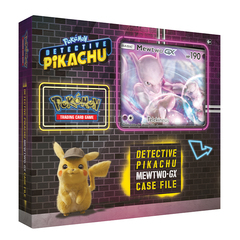 Detective Pikachu Mewtwo GX Box on Channel Fireball