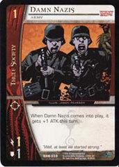 Damn Nazis, Army - Foil