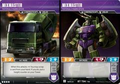Mixmaster - Materials Fabrication (Wave 2A - Devastator)