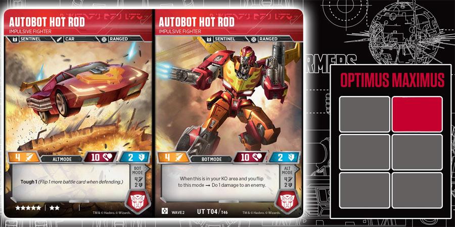 Autobot Hot Rod // Impulsive Fighter