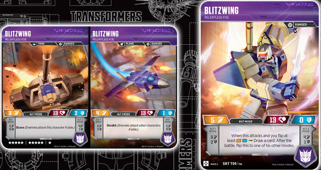 Blitzwing // Relentless Foe