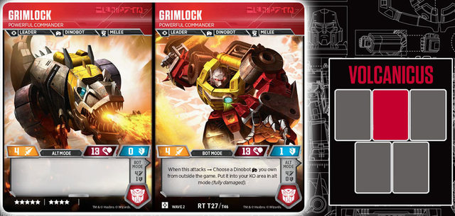 Grimlock // Powerful Commander