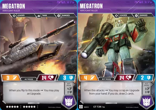 Megatron // Arrogant Ruler
