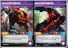 Predacon Rampage // Savage Hunter