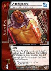Atrophos, Chief Blight Scientist - Foil