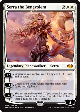 Serra the Benevolent - Foil