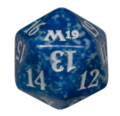 Magic Spindown Die - Core Set 2019 - Blue