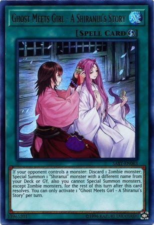 Ghost Meets Girl - A Shiranuis Story - SAST-EN063 - Ultra Rare - Unlimited Edition