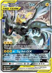 Pikachu & Zekrom GX - SM168 - SM Black Star Promo