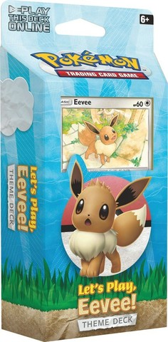 Lets Play, Eevee! Theme Deck