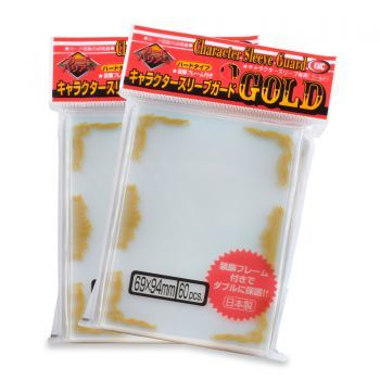 KMC Character Guard - Gold Scroll 60 Pack