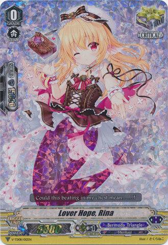 Lover Hope, Rina - V-TD08/012EN (FOIL - RRR)