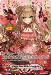 Choco Love Heart, Liselotte - V-TD08/S02EN (Hot Stamp / Full Art)