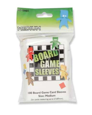 Arcane Tinmen - Board Game Sleeves: Clear - Medium
