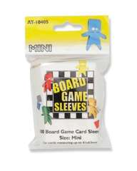 Arcane Tinmen - Board Game Sleeves: Clear - Mini