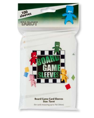 Arcane Tinmen - Board Game Sleeves: Clear - Tarot