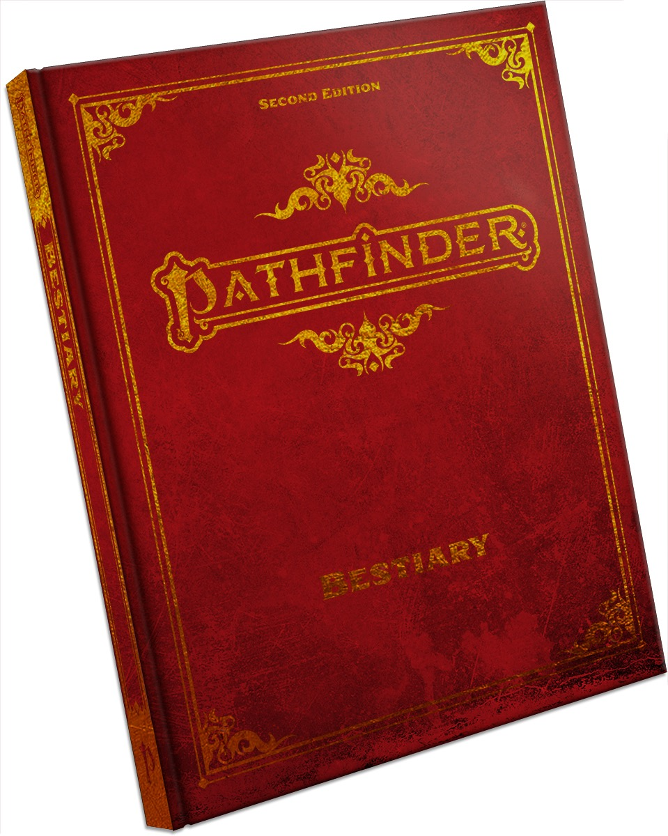 Pathfinder RPG Second Edition: Bestiary - Special Edition