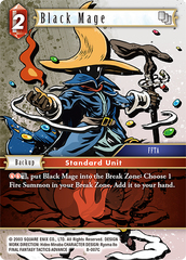 Black Mage - 8-007C - Foil