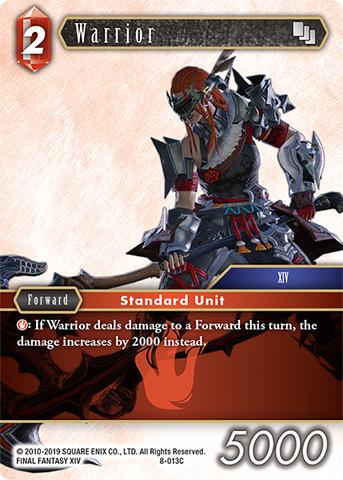 Warrior - 8-013C - Foil