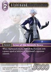 Alphinaud - 8-092C - Foil on Channel Fireball