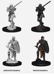 Nolzur's Marvelous Miniatures - Female Human Fighter