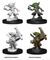 Pathfinder Deep Cuts Unpainted Miniatures: W9 Male Goblin Alchemist