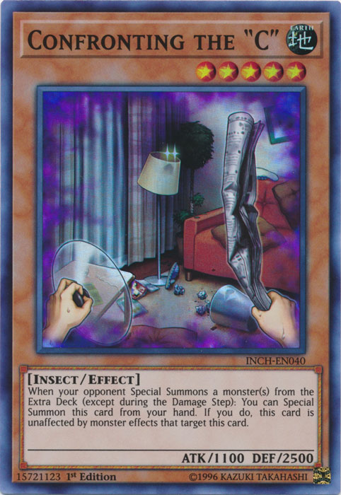 Confronting the C - INCH-EN040 - Super Rare - 1st Edition