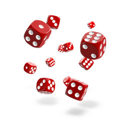 Oakie Doakie Dice - D6 Solid Red 12mm Set of 36 (ODD400024)