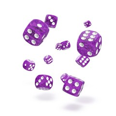 Oakie Doakie Dice - D6 Speckled Purple 12mm Set of 36 (ODD400021)