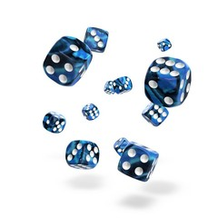 Oakie Doakie Dice - D6 Gemidice Twilight Stone 12mm Set of 36