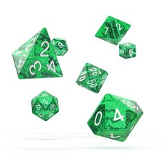 Oakie Doakie Dice - RPG-Set Speckled Green