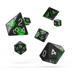 Oakie Doakie Dice - RPG-Set Eclave Emerald