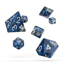 Oakie Doakie Dice - RPG-Set Gemidice Liquid Steel