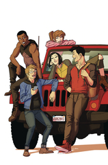 Go Go Power Rangers: Forever Rangers #1 (Preorder Anka Variant)